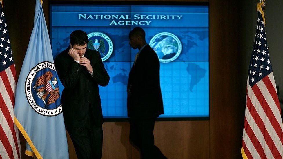 Equipe de segurança na NSA