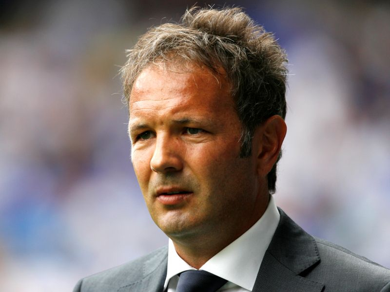 Manager of ACF Fiorentina Sinisa Mihajlovic awaits kick off against Tottenham Hotspur during a friendly match at White Hart Lane in London on August 7, 2010. AFP PHOTO/IAN KINGTON  FOR EDITORIAL USE ONLY Additional licence required for any commercial/promotional use or use on TV or internet (except identical online version of newspaper) of Premier League/Football League photos. Tel DataCo +44 207 2981656. Do not alter/modify photo.