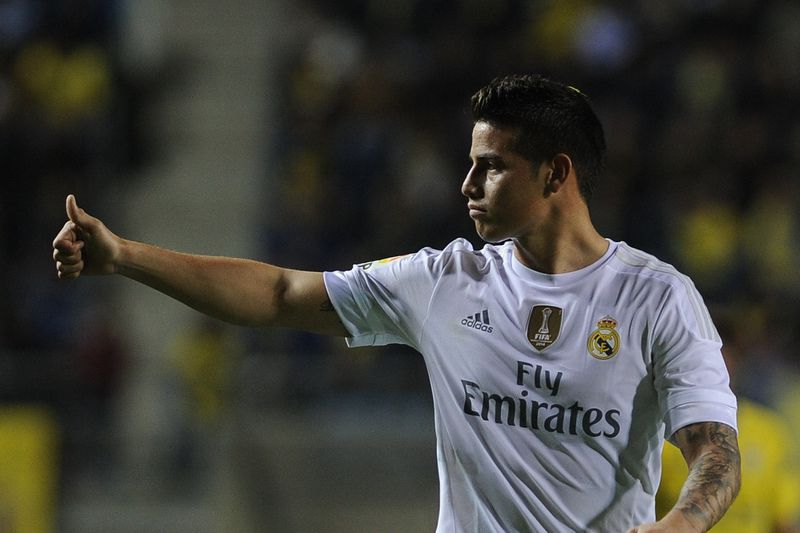 James Rodríguez • CRISTINA QUICLER / AFP