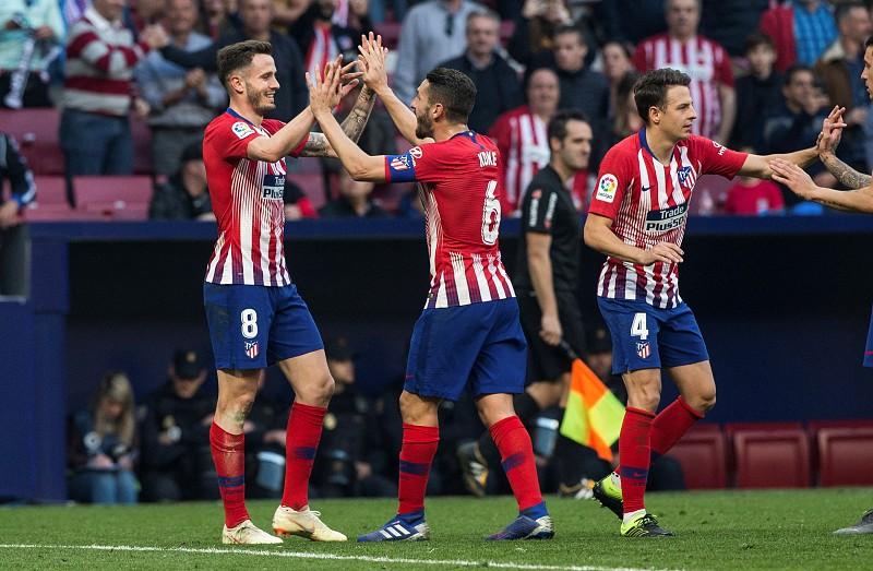 Atlético de Madrid vence e mantém diferença de sete pontos para o FC  Barcelona 0c2f2002d57b5