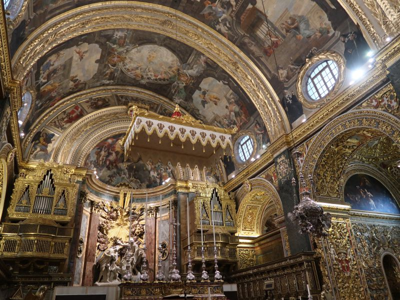 Malta: As riquezas escondidas na Co-Catedral de S. João