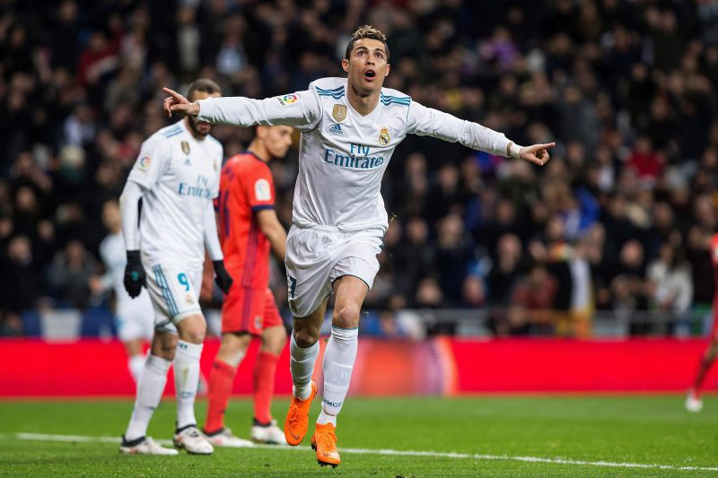 Hat-trick de Cristiano Ronaldo na goleada do Real Madrid