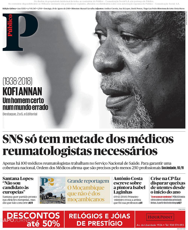 585a0eca142 Público (19 ago 2018) - Jornais e Revistas - SAPO 24