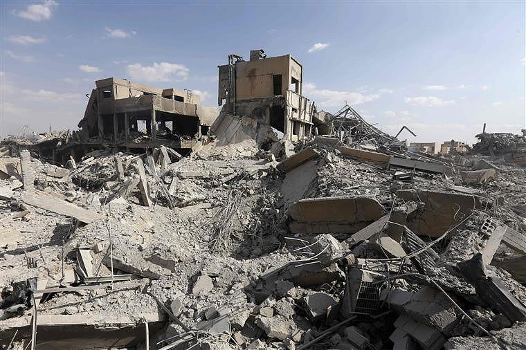 12edf3013d Síria  China lembra lições da invasão do Iraque numa referência ao ataque  de sábado - Actualidade - SAPO Notícias