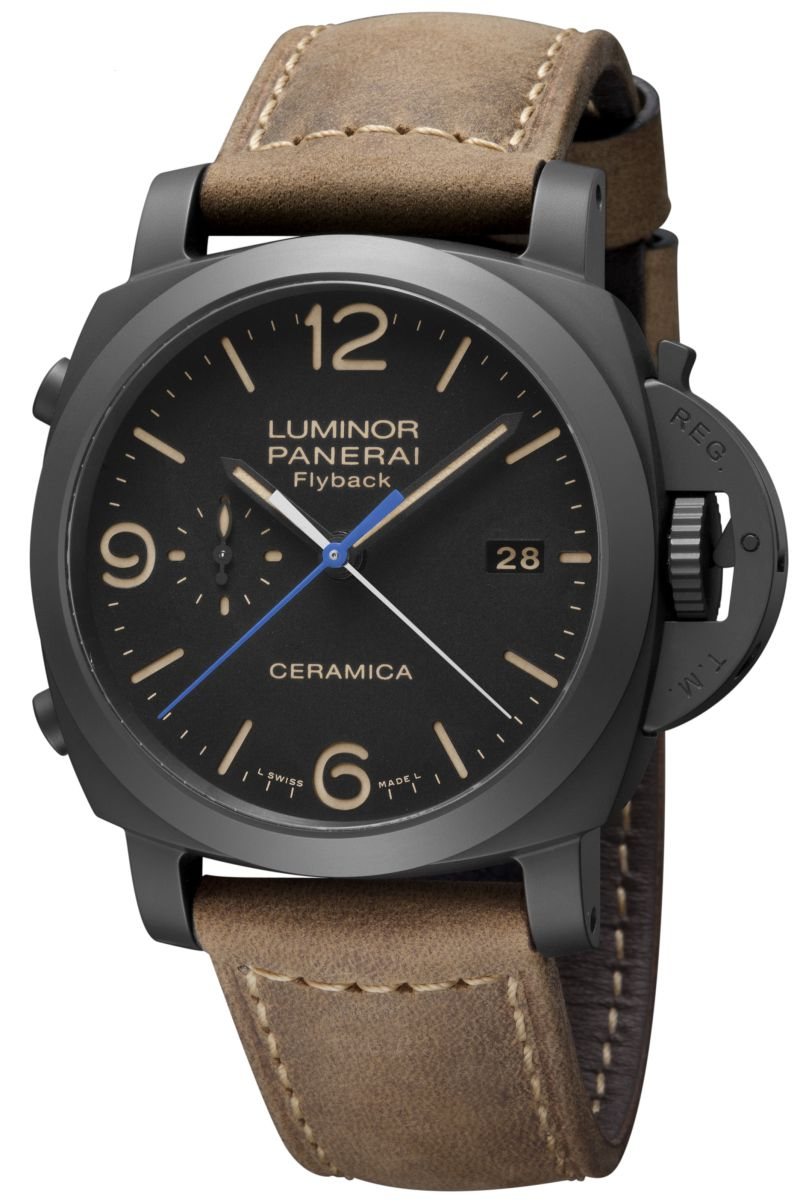 142ded99aef Panerai Luminor 1950 com função flyback Panerai Luminor 1950 3 Days ...