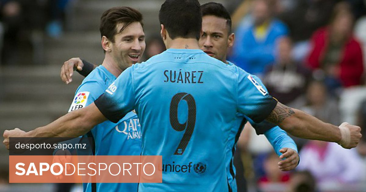 6040c11224 Suárez marca na vitória do Barça sobre o Las Palmas - La Liga - SAPO  Desporto