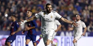 Dois penáltis - e muita polémica - dão a vitória ao Real Madrid sobre o  Levante 0e8e164850277