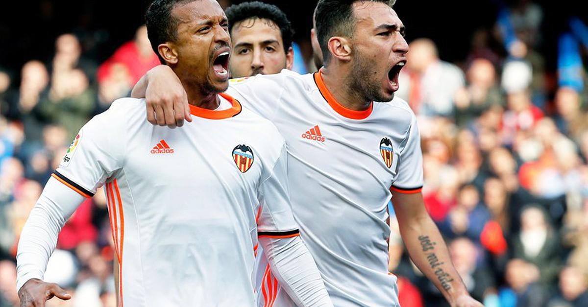 1c1c1731af Nani marca na vitória caseira do Valência frente ao Athletic Bilbau - La  Liga - SAPO Desporto