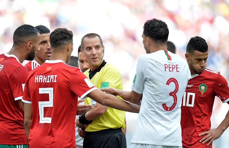 Federação marroquina manda carta à FIFA a apontar erros de arbitragem nos  jogos com Portugal e b728040cda07a