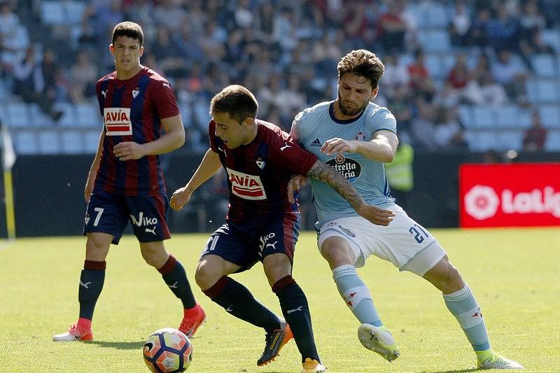 99cea1a15f Eibar bate Celta e segura 6.º lugar. Valência vence Granada - La ...