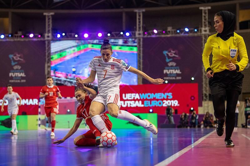 Espanha é a primeira finalista do Europeu de futsal feminino ... 602bb5b526371