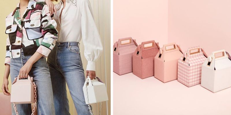 #tendência: takeout bag, as malas que fazem lembrar as embalagens de take away