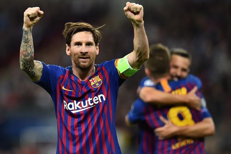 Messi recebeu prémio de melhor marcador da liga espanhola pela quinta vez aac7d9072eee6