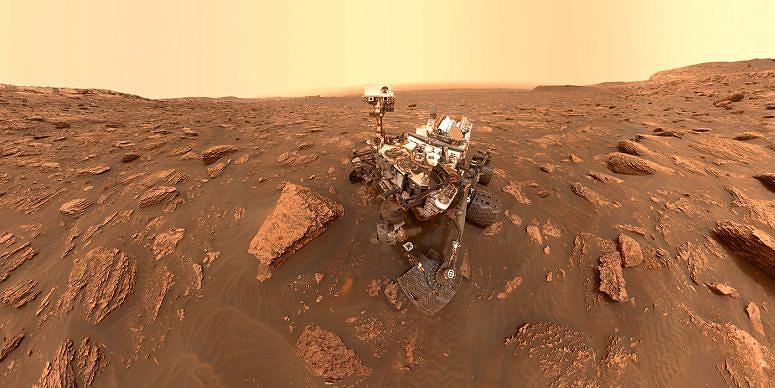 21 quilómetros e 22 amostras: 7 anos de Curiosity em Marte