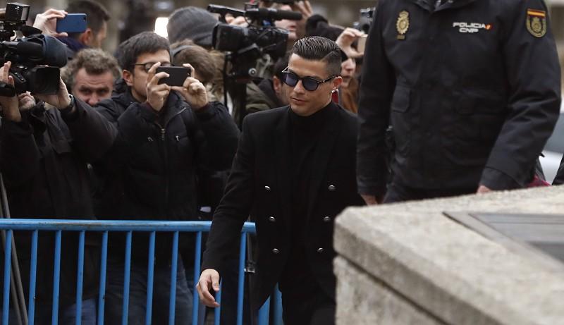 Cristiano Ronaldo já terá sido notificado no caso da alegada violação a Mayorga