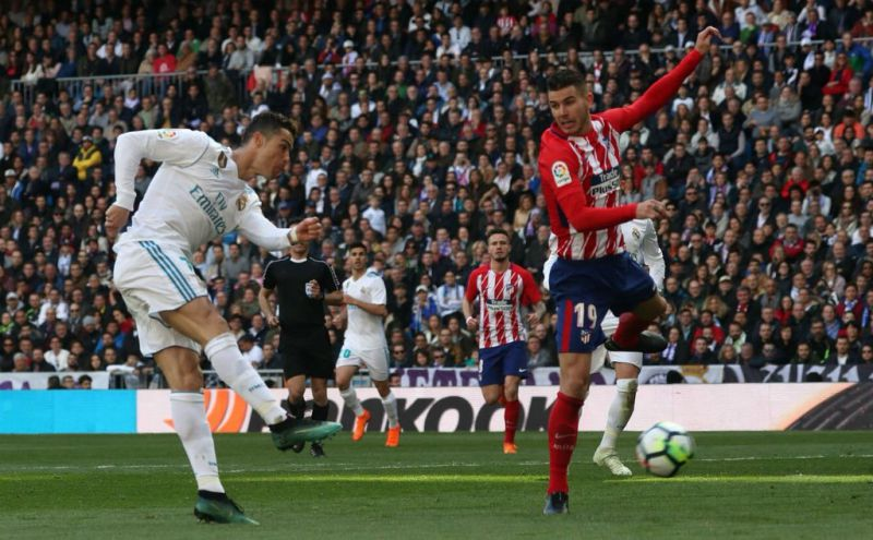 Cristiano Ronaldo marca no empate do Real Madrid frente ao Atlético