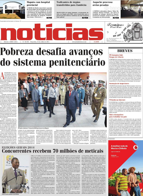 Notícias 15 Jul 2014 Jornais E Revistas Sapo Notícias