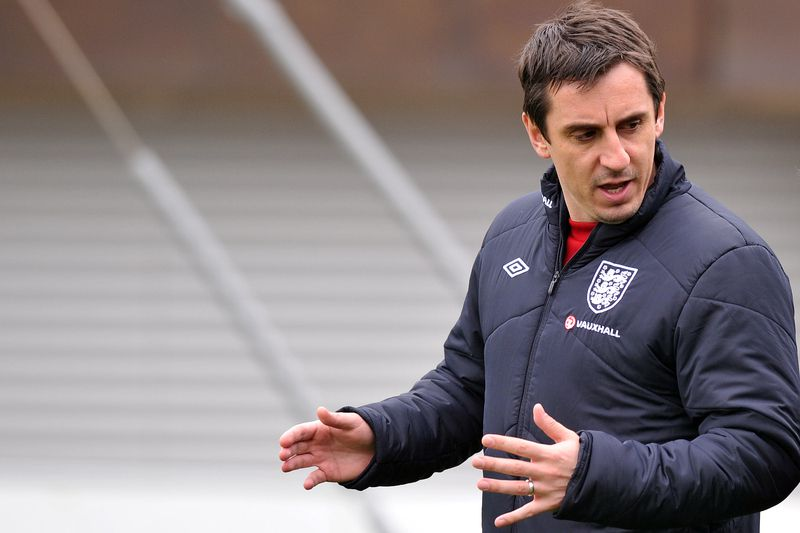 Gary Neville • PAUL ELLIS / AFP