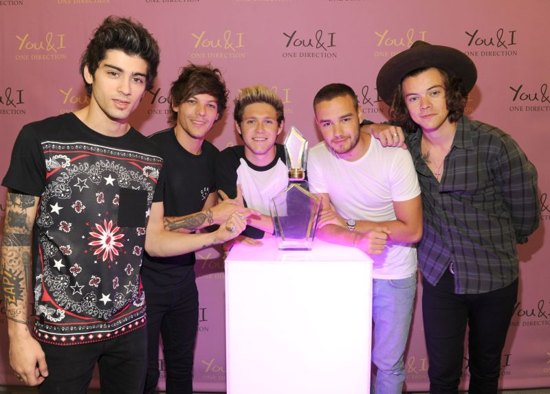 NEW YORK, NY - AUGUST 05:  (Exclusive Coverage) Global pop phenomenon, One Direction, launch their new fragrance