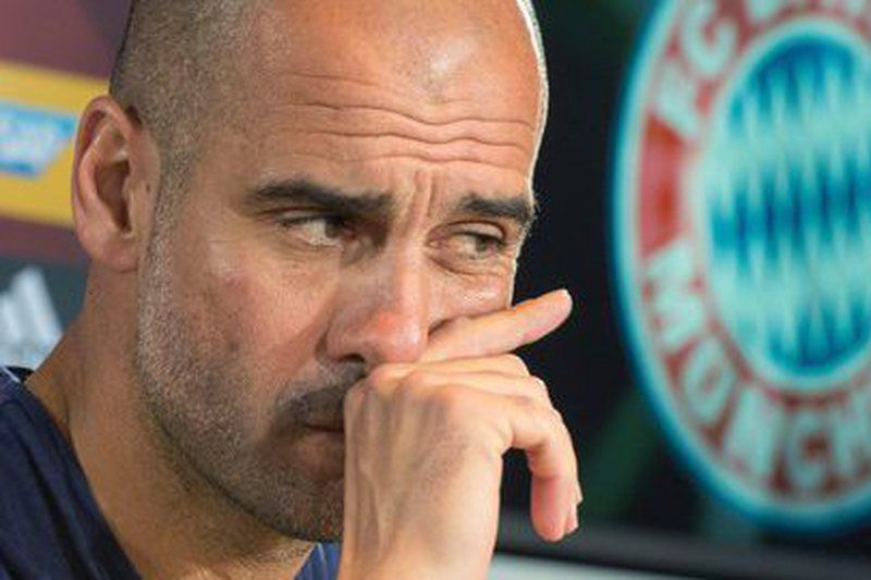 Guardiola to manage Manchester City from next season • epa05138392 (FILES) A file picture dated 05 January 2016 shows Pep Guardiola, head coach of German Bundesliga soccer club FC • Lusa