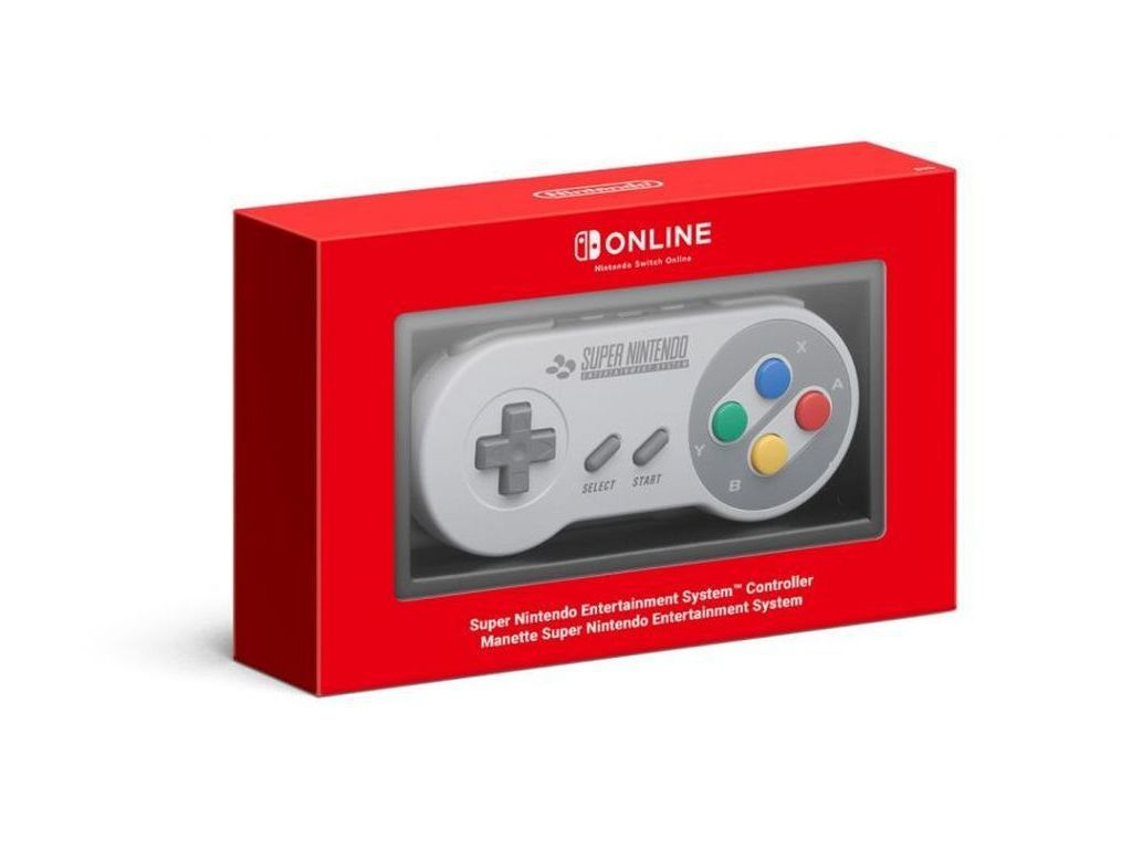 Tek Nintendo Switch SNES