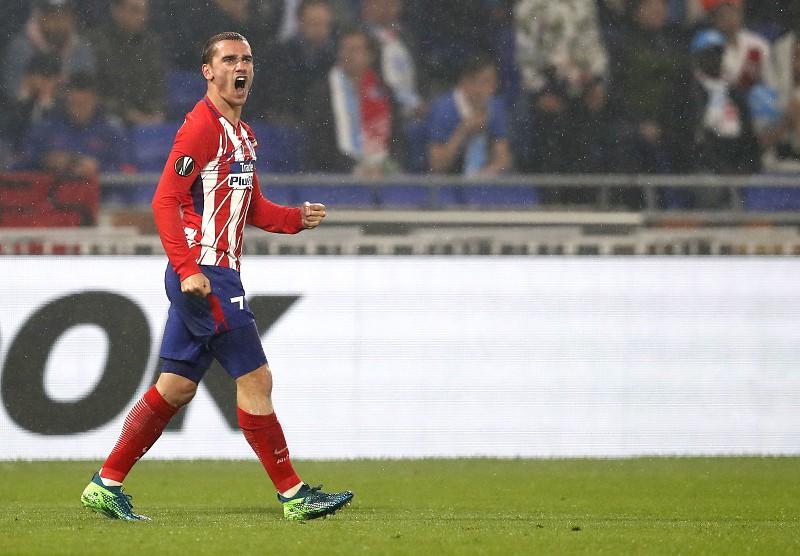 da189b10748e4 Griezmann considerado o melhor jogador da Liga Europa da época passada