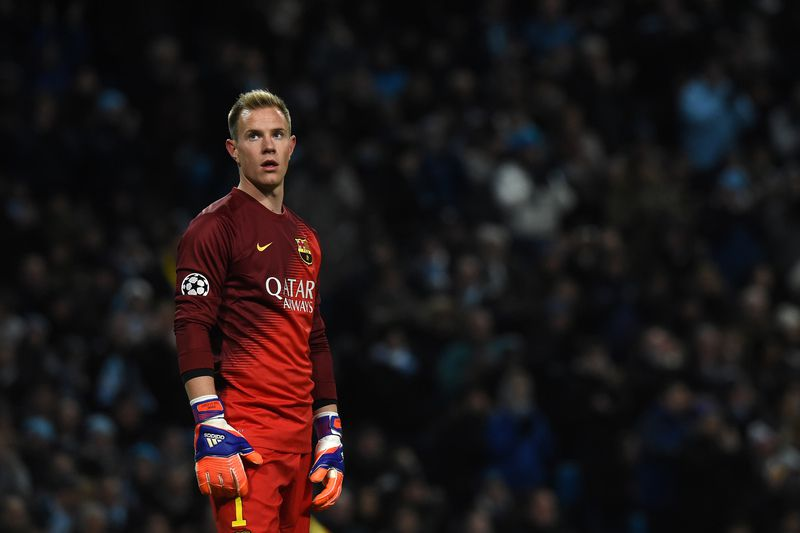 Ter Stegen • PAUL ELLIS / AFP