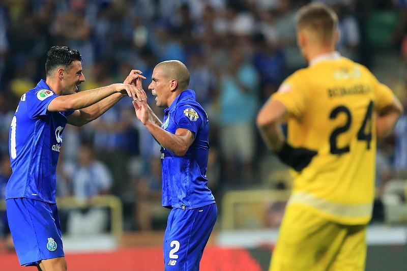 André Pereira marcou o segundo golo do FC Porto em fora de jogo - I ... 437d5da94321b