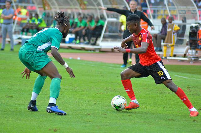 CAN2019: Gelson Dala falha jogo de estreia devido a lesão