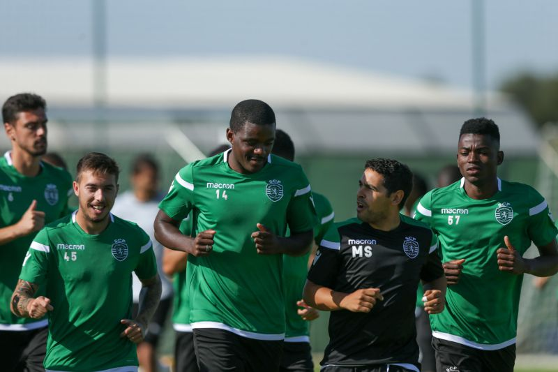 Treino do Sporting