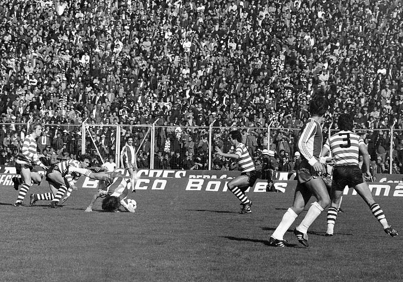 bf7189b73dd55 Já não se fazem clássicos como antigamente  Recorde as maiores goleadas  entre Sporting e FC