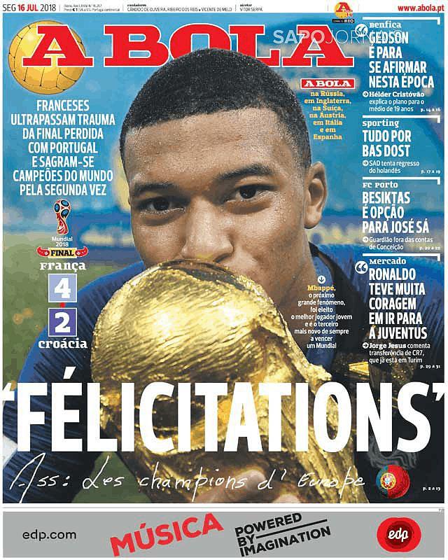 Revista De Imprensa Capas De Jornais Desportivos São Bleus