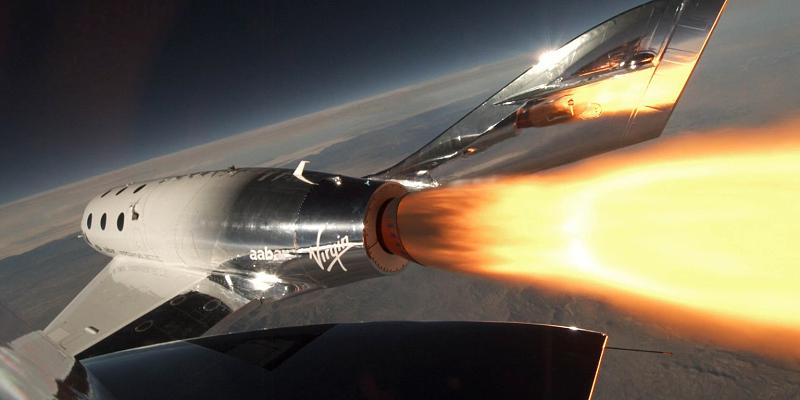"""Nave da Virgin Galactic já levou primeiro """"turista"""" ao Espaço"""