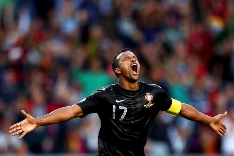 nani_golo_portugal_luxemburgo_2013_lusa.jpg • PORTUGAL SOCCER FIFA WORLD CUP 2014 QUALIFICATION • AFP