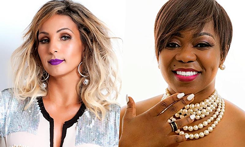 Bastante encantada, Valesca Popozuda deseja levar cantora Noite & Dia ao Brasil