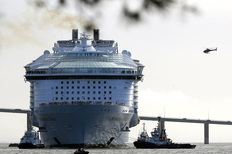 Symphony of the Seas: como nasceu o novo maior navio do mundo?