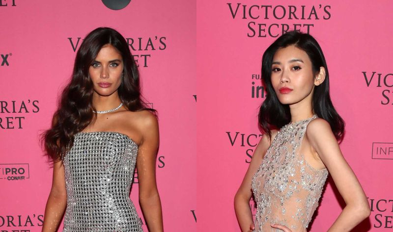 Victoria's Secret: Brilhos e transparências na 'after party'