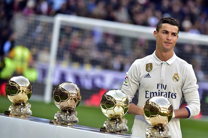 488f0c9170 Cristiano Ronaldo venceu o Prémio FIFA para melhor do mundo