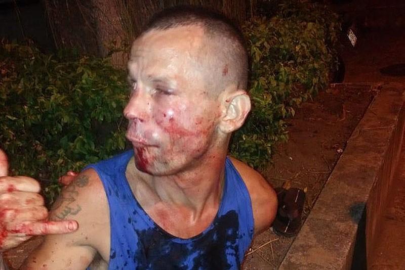 A cara do homem que tentou assaltar Poliana Viana