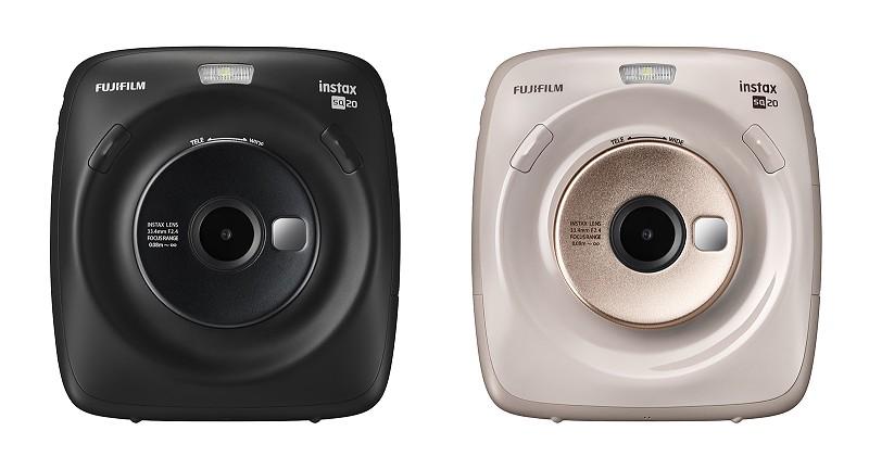 03f6fbc7749ef Nova Instax Square SQ20 junta impressões instantâneas e gravação de vídeo