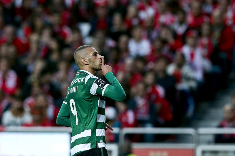 Islam Slimani • MIGUEL A. LOPES / LUSA