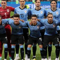 Equipa inicial do Uruguai @EPA/FRIEDEMANN VOGEL