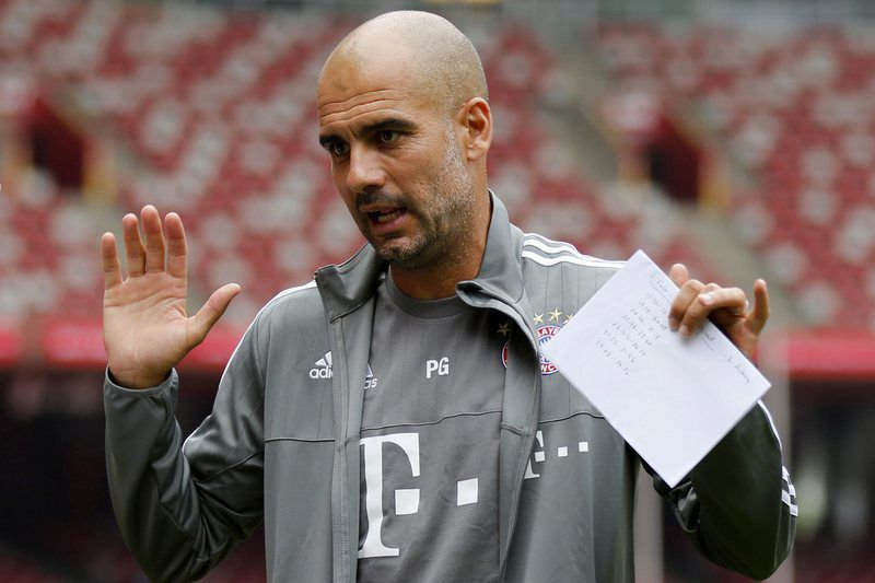 Pep Guardiola, treinador do Bayern Munique • Lusa
