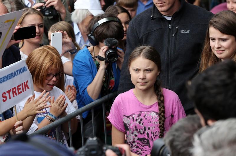 Ativista pelo clima Greta Thunberg vai levar luta para os Estados Unidos