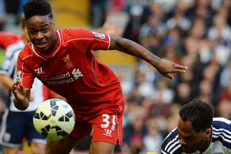 Raheem Sterling • PAUL ELLIS / AFP
