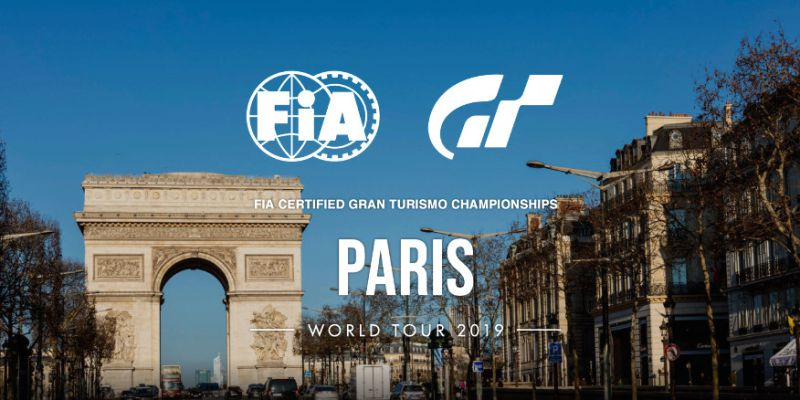 Paris vai ser palco do FIA-Certified Gran Turismo 2019
