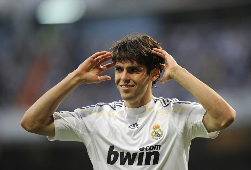 Kaká recorda passagem pelo Real Madrid
