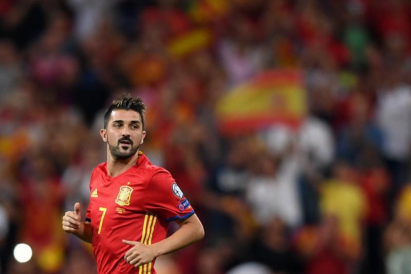 a3a1ea11d7802 David Villa lesiona-se no regresso à seleção espanhola - Futebol ...