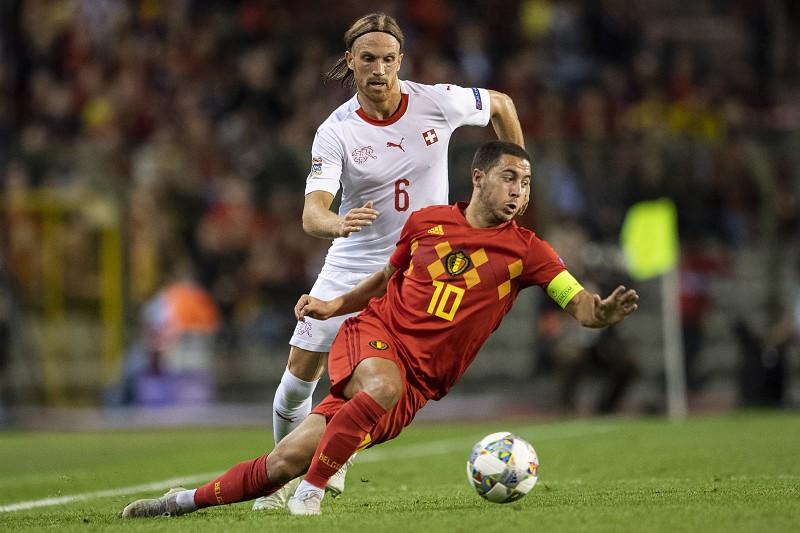 ... Espanha confortável na liderança do Grupo 4. Liga das Nações  Bélgica  bate Suíça a673e6a8c0e57