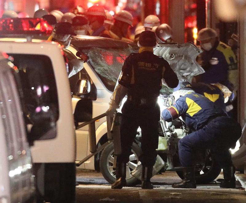 Resultado de imagem para Japão: Homem avança com carro sobre multidão e fere nove pessoas em Tóquio